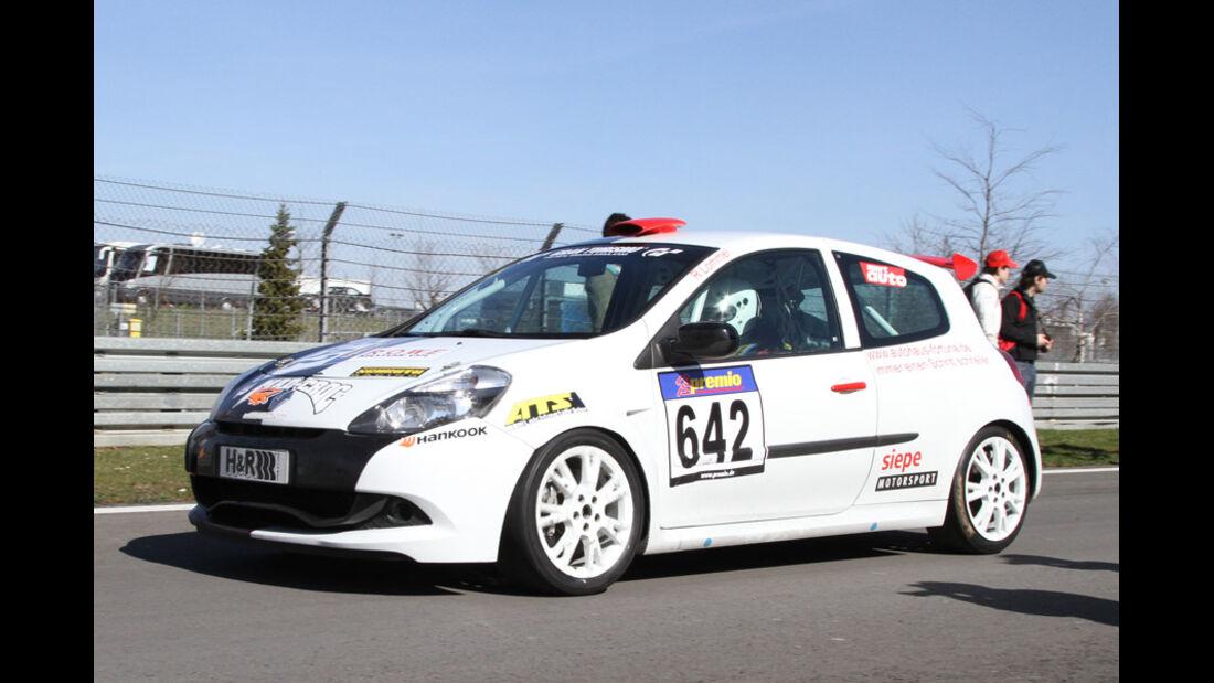 VLN, 2011, #642, Klasse CUP3 , Renault Clio Cup,
