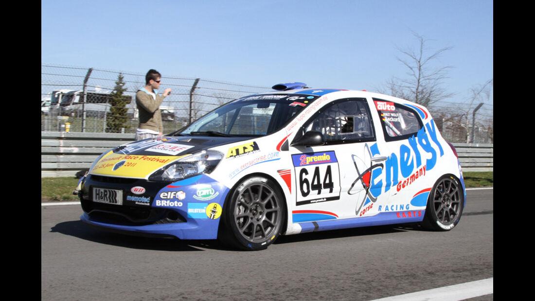 VLN, 2011, #644, Klasse CUP3 , Renault Clio Cup, FLEPER MOTORSPORT