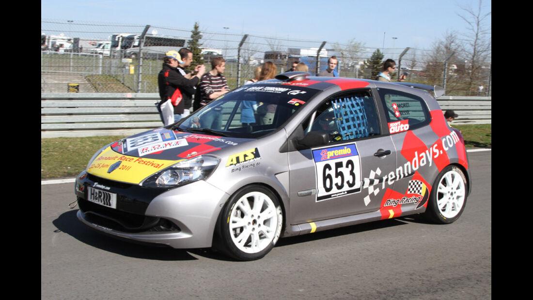 VLN, 2011, #653, Klasse CUP3 , Renault Clio Cup,