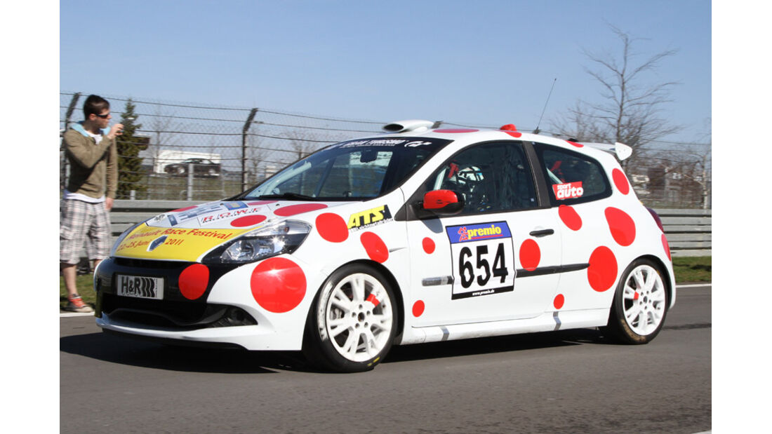VLN, 2011, #654, Klasse CUP3 , Renault Clio Cup,
