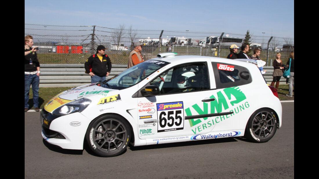 VLN, 2011, #655, Klasse CUP3 , Renault Clio Cup,