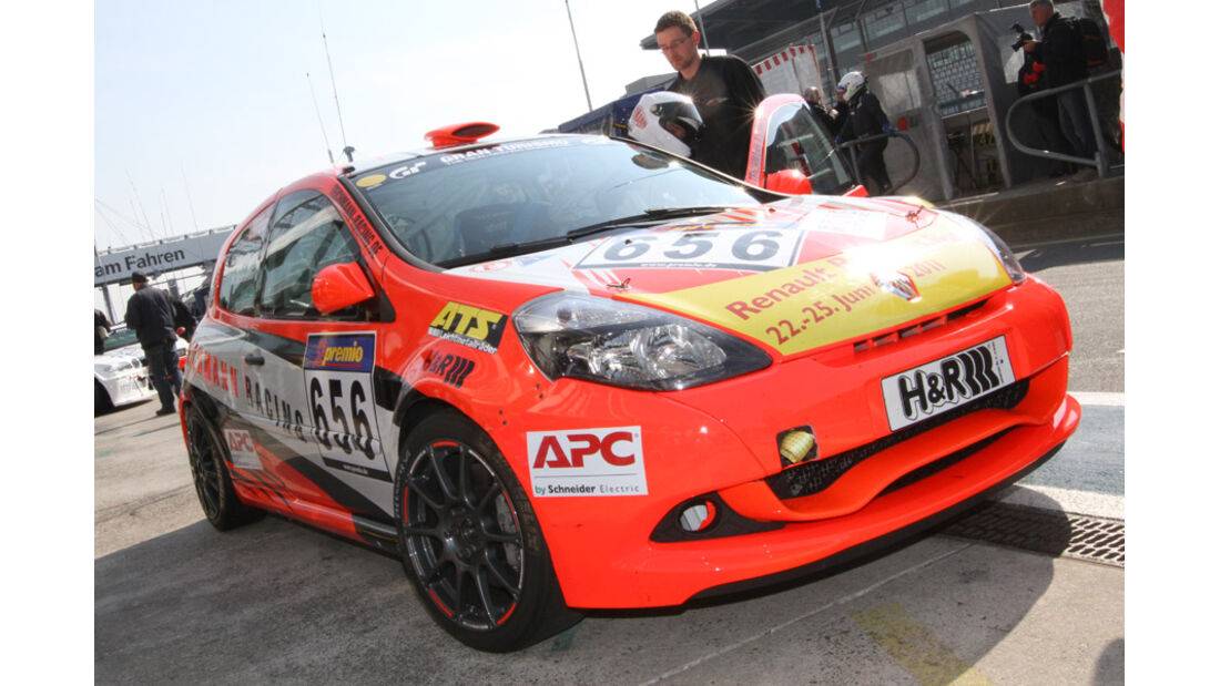 VLN, 2011, #656, Klasse CUP3 , Renault Clio Cup, MSC Adenau e.V. im ADAC