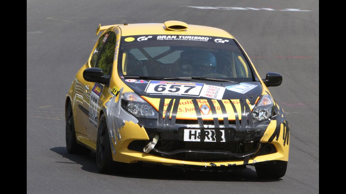 VLN, 2011, #657, Klasse CUP3 , Renault Clio Cup,