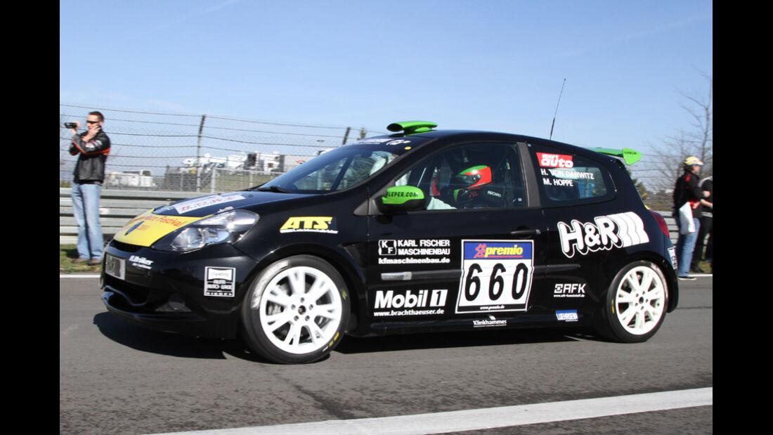 VLN, 2011, #660, Klasse CUP3 , Renault Clio Cup, FLEPER MOTORSPORT