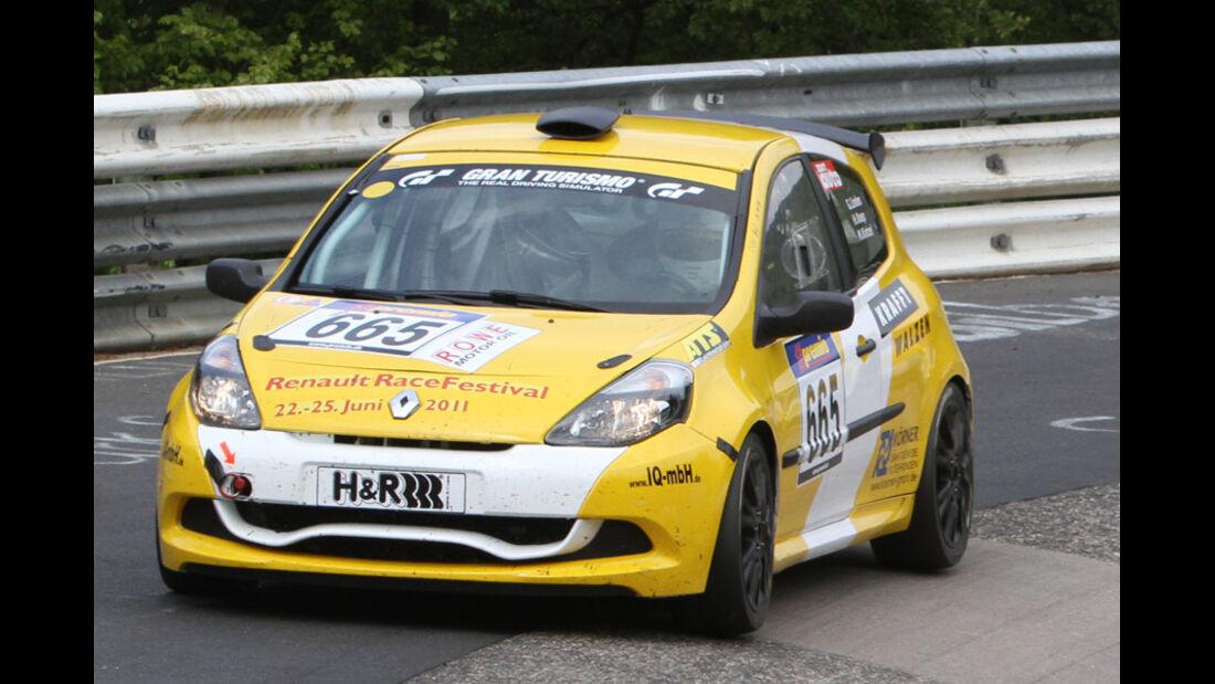 VLN, 2011, #665, Klasse CUP3 , Renault Clio,