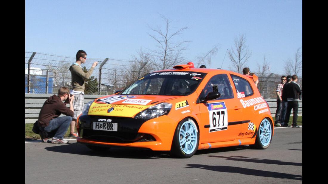 VLN, 2011, #677, Klasse CUP3 , Renault Clio Cup,