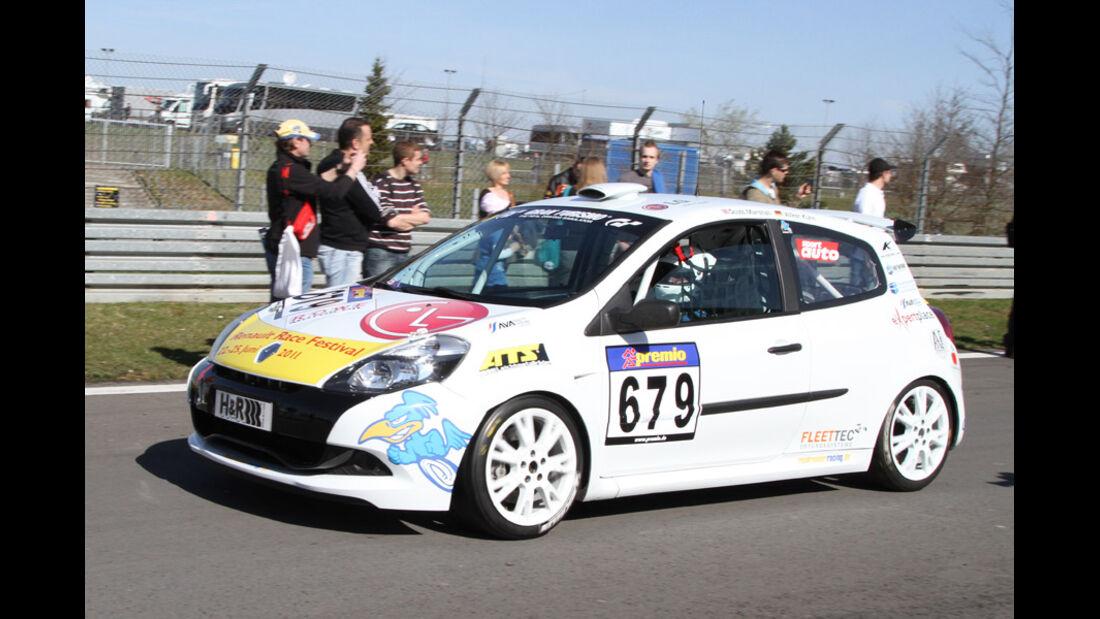 VLN, 2011, #679, Klasse CUP3 , Renault Clio Cup,