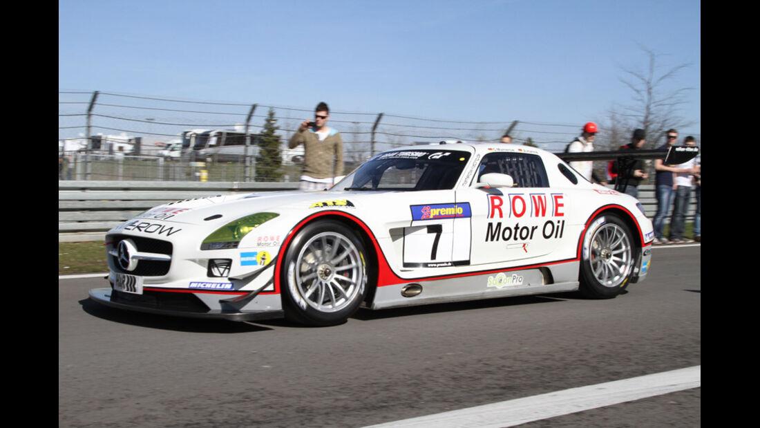VLN, 2011, #7, Klasse SP9 , Mercedes-Benz SLS AMG GT3, MAMEROW / ROWE Racing