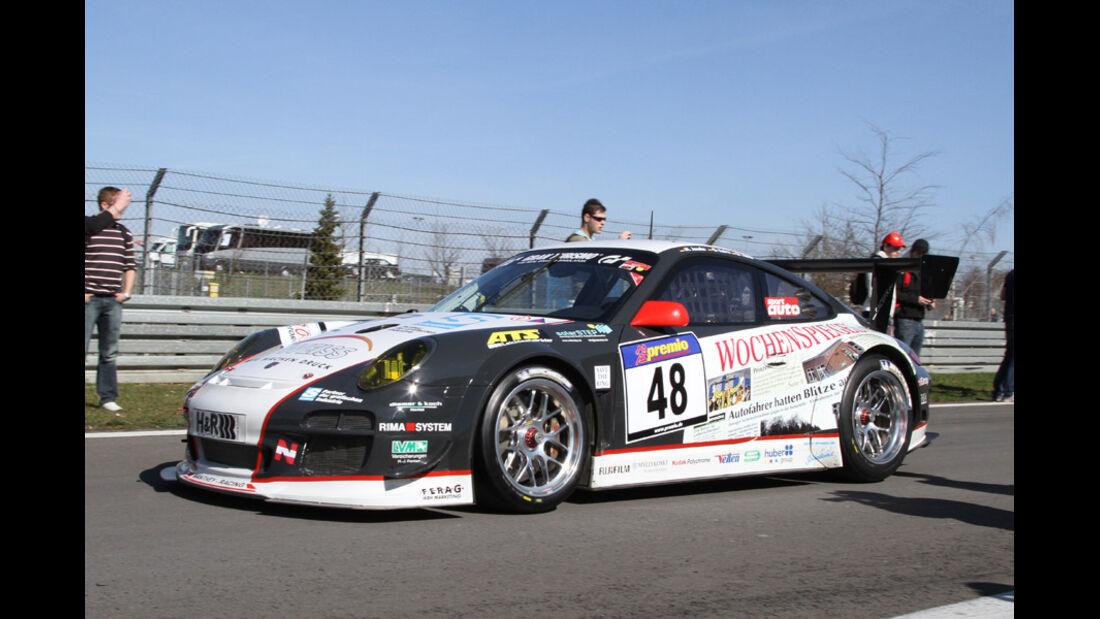 VLN, 2011, Porsche 911 GT3, #048 Wochenspiegel Team Manthey