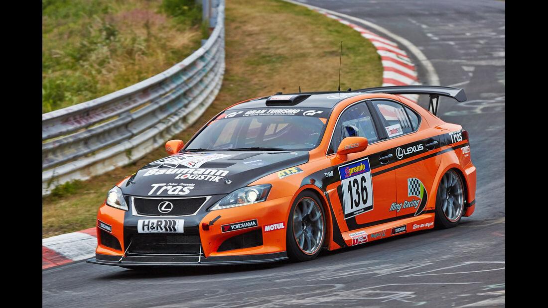 VLN 2014, #136, Lexus ISF, SP8, Langstreckenmeisterschaft Nürburgring