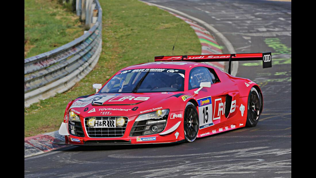 VLN 2014, #15, Audi R8 LMS ultra, SP9, Langstreckenmeisterschaft Nürburgring