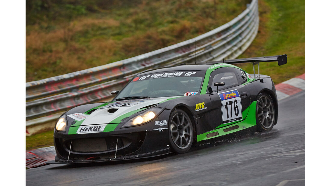 VLN 2014, #176, Ginetta G55, SP10, Langstreckenmeisterschaft Nürburgring