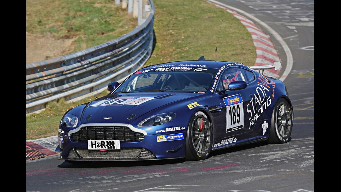 VLN 2014, #189, Aston Martin Vantage V8 GT4, SP10, Langstreckenmenmeisterschaft Nürburgring