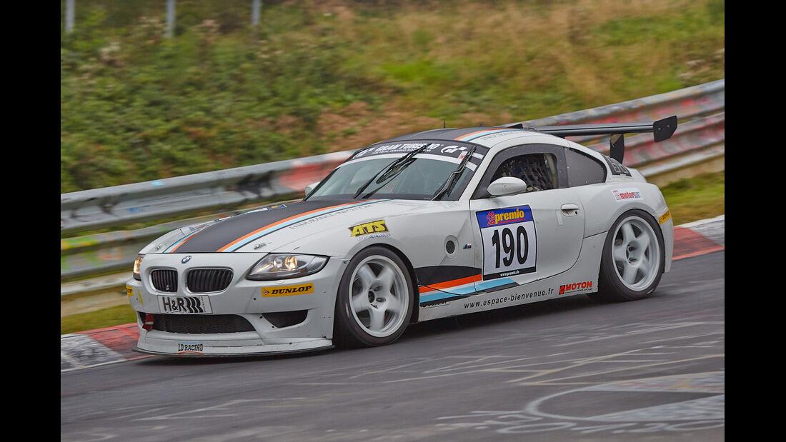 VLN 2014, #190, BMW Z4 M, SP6, Langstreckenmeisterschaft Nürburgring