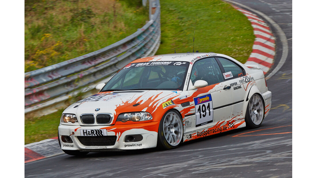 VLN 2014, #191, BMW M3, SP6, Langstreckenmeisterschaft Nürburgring