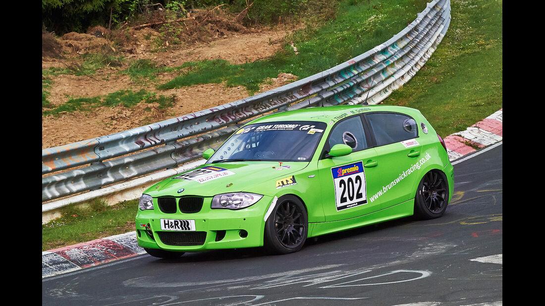 VLN 2014, #202, BMW M1, SP6, Langstreckenmeisterschaft Nürburgring