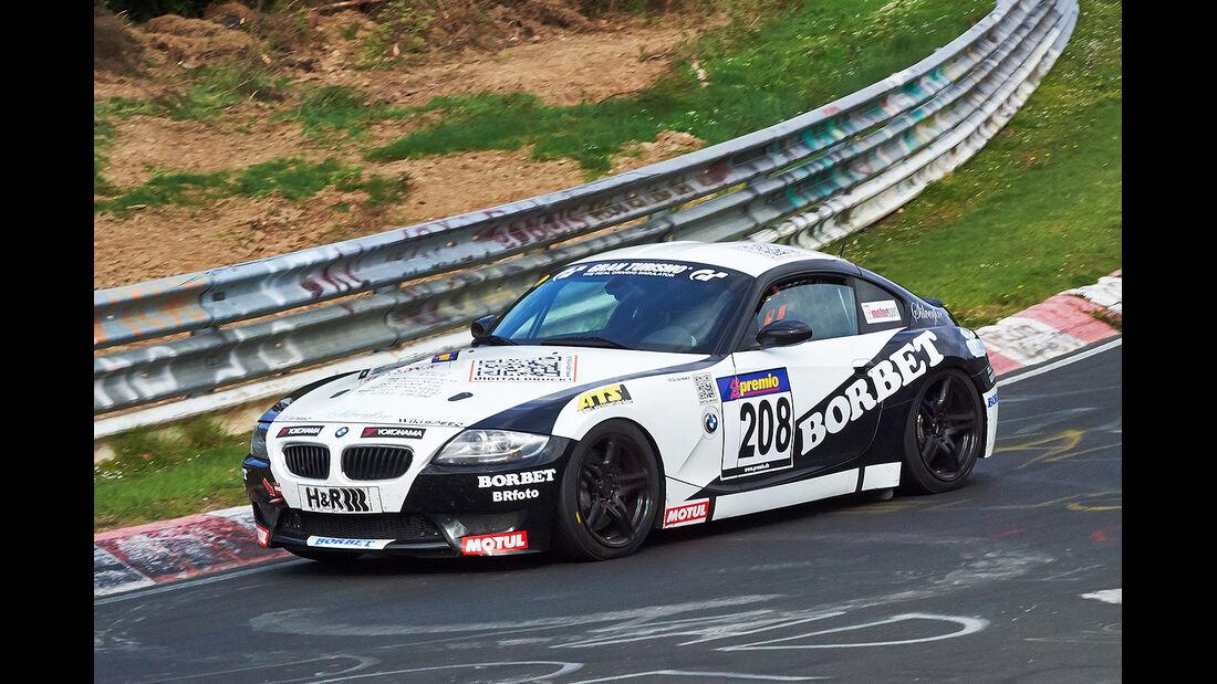 VLN 2014, #208, BMW Z4 M Coupé, SP6, Langstreckenmeisterschaft Nürburgring