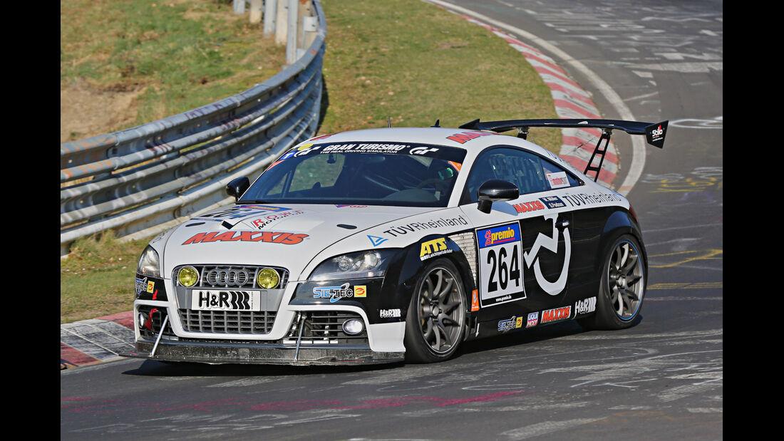 VLN 2014, #264, Porsche 911 GT3 RSR, SP4T, Langstreckenmenmeisterschaft Nürburgring