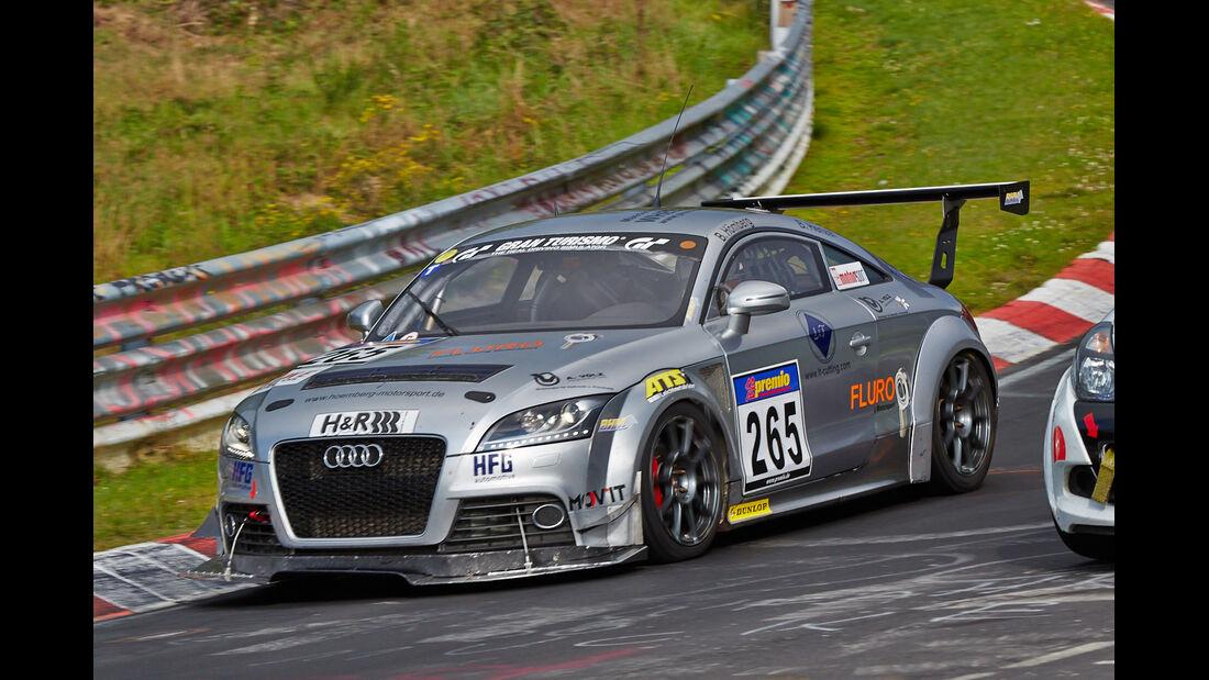 VLN 2014, #265, Audi TTS, SP4T, Langstreckenmeisterschaft Nürburgring