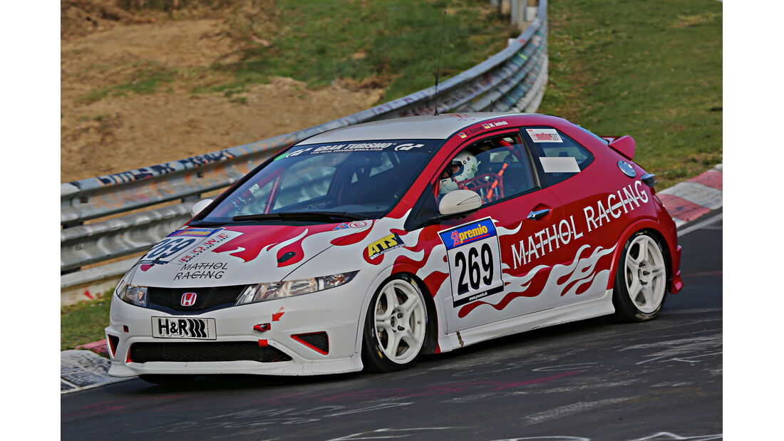 VLN 2014, #269, Honda Civic Typ R, SP3, Langstreckenmeisterschaft Nürburgring
