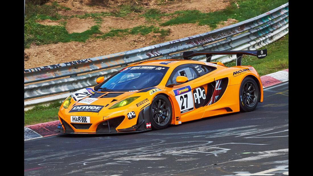 VLN 2014, #27, McLaren MP4 12C GT3, SP9, Langstreckenmeisterschaft Nürburgring