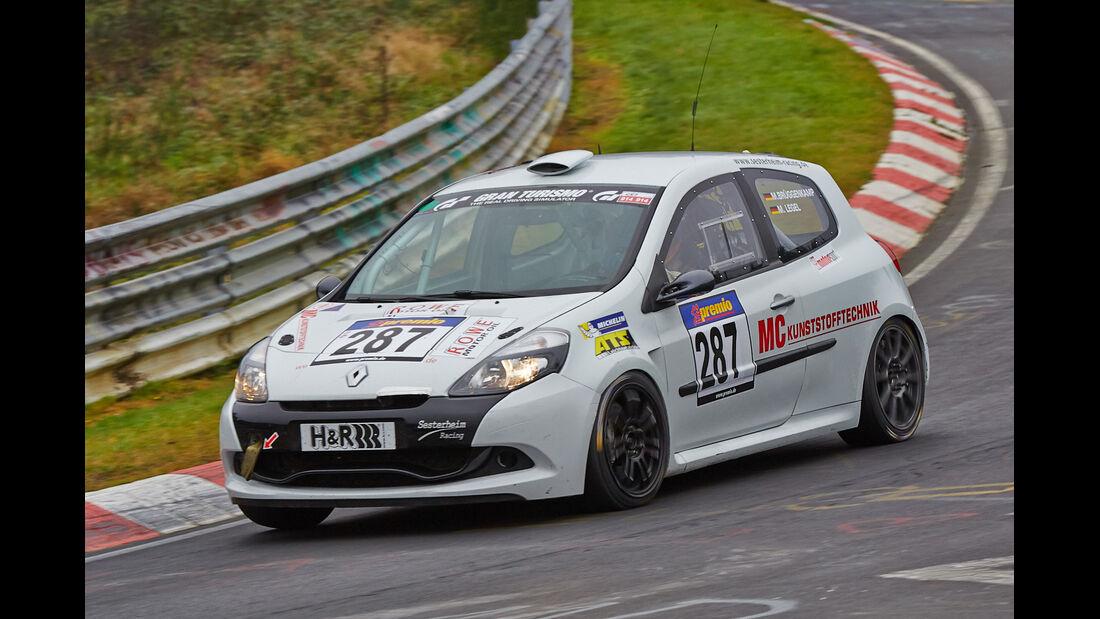 VLN 2014, #287, Renault Clip Cup, SP3, Langstreckenmeisterschaft Nürburgring