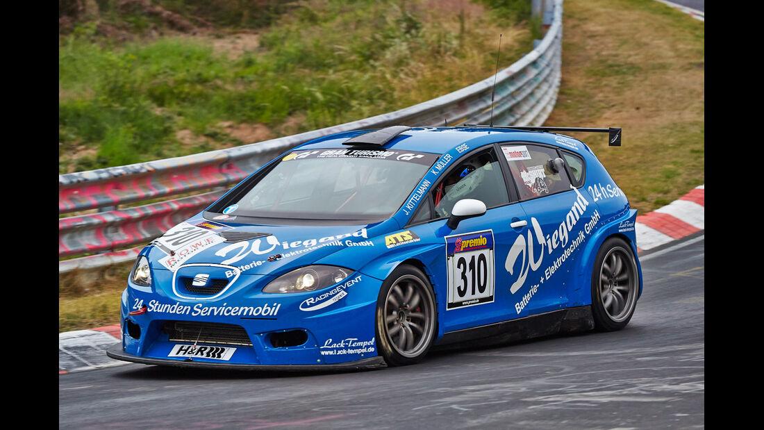 VLN 2014, #310, SEAT Supercopa, SP3T, Langstreckenmeisterschaft Nürburgring
