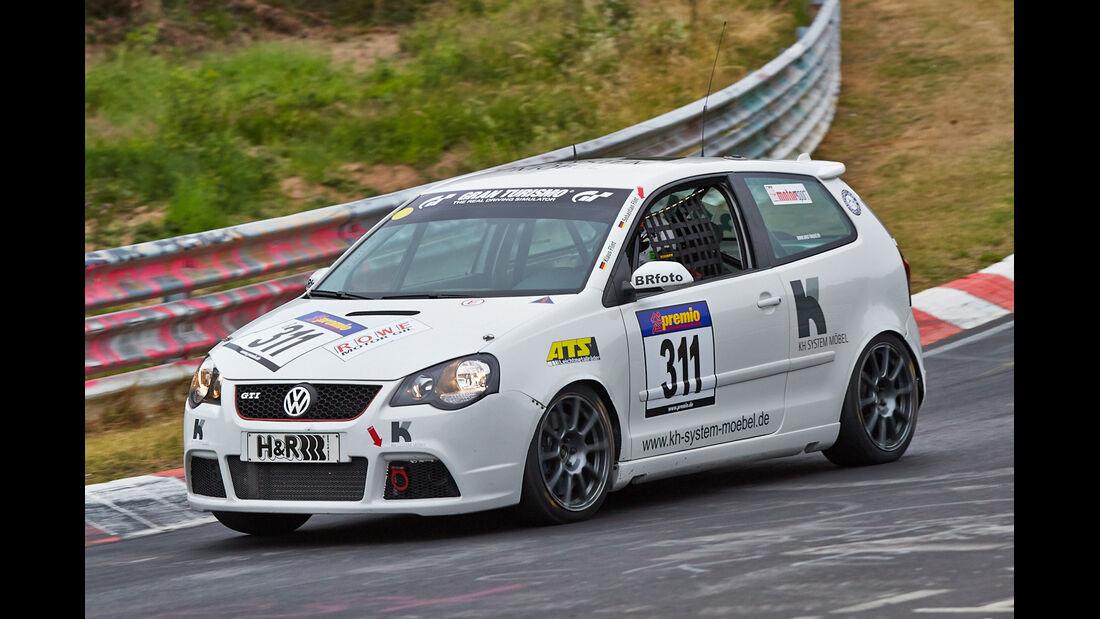 VLN 2014, #311, VW Polo GTI, SP3T, Langstreckenmeisterschaft Nürburgring