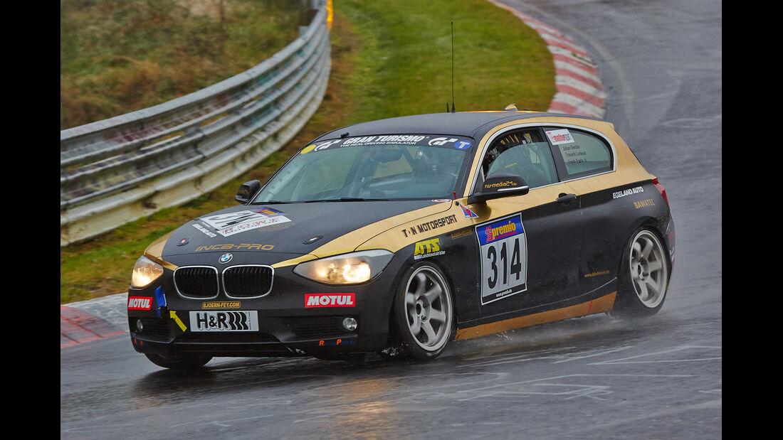 VLN 2014, #314, BMW 125i, SP3T, Langstreckenmeisterschaft Nürburgring