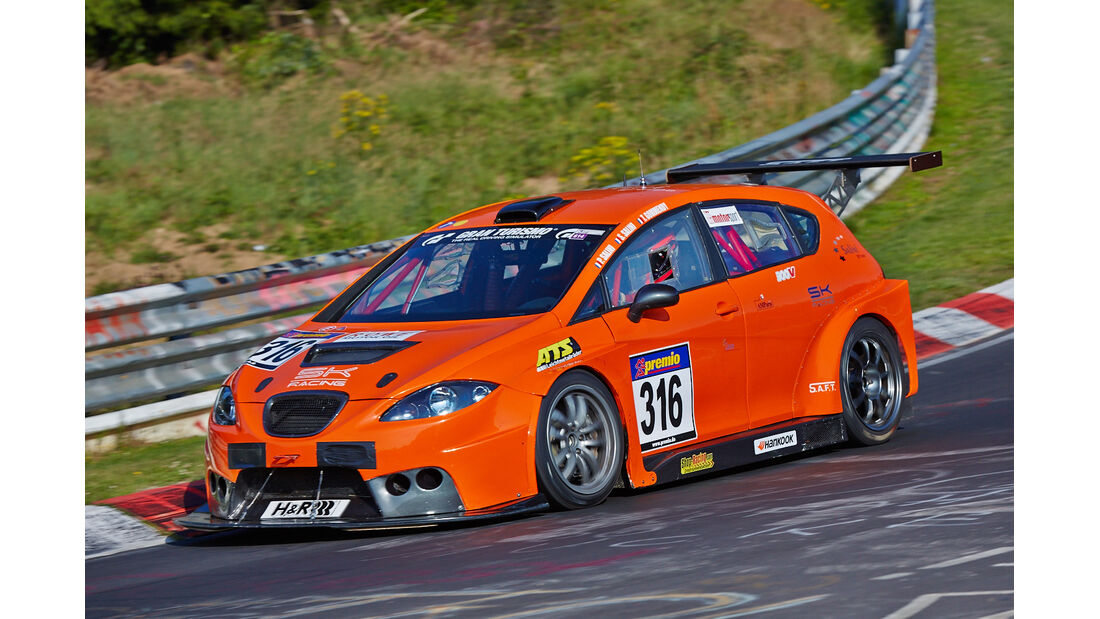 VLN 2014, #316, Seat Leon Supercopa, SP3T