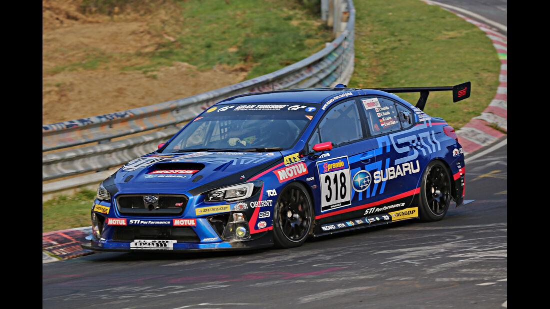 VLN 2014, #318, Subaru SUBARU WRX-STI, SP3T, Langstreckenmeisterschaft Nürburgring
