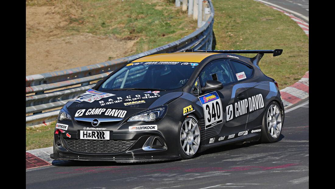 VLN 2014, #340, Opel Astra OPC CUP, CUP1, Langstreckenmeisterschaft Nürburgring