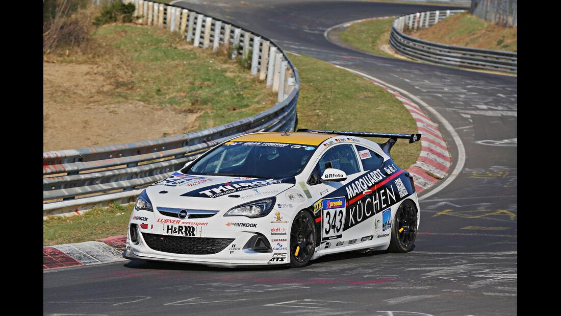 VLN 2014, #343, Opel Astra OPC CUP, CUP1, Langstreckenmeisterschaft Nürburgring