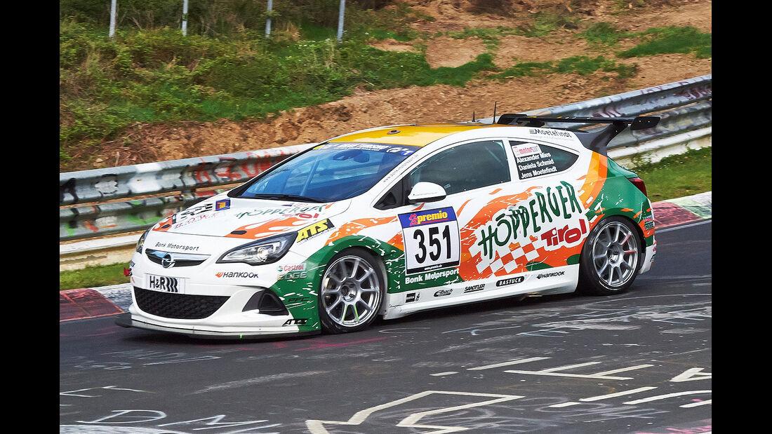 VLN 2014, #351, Opel Astra OPC CUP, CUP1, Langstreckenmeisterschaft Nürburgring