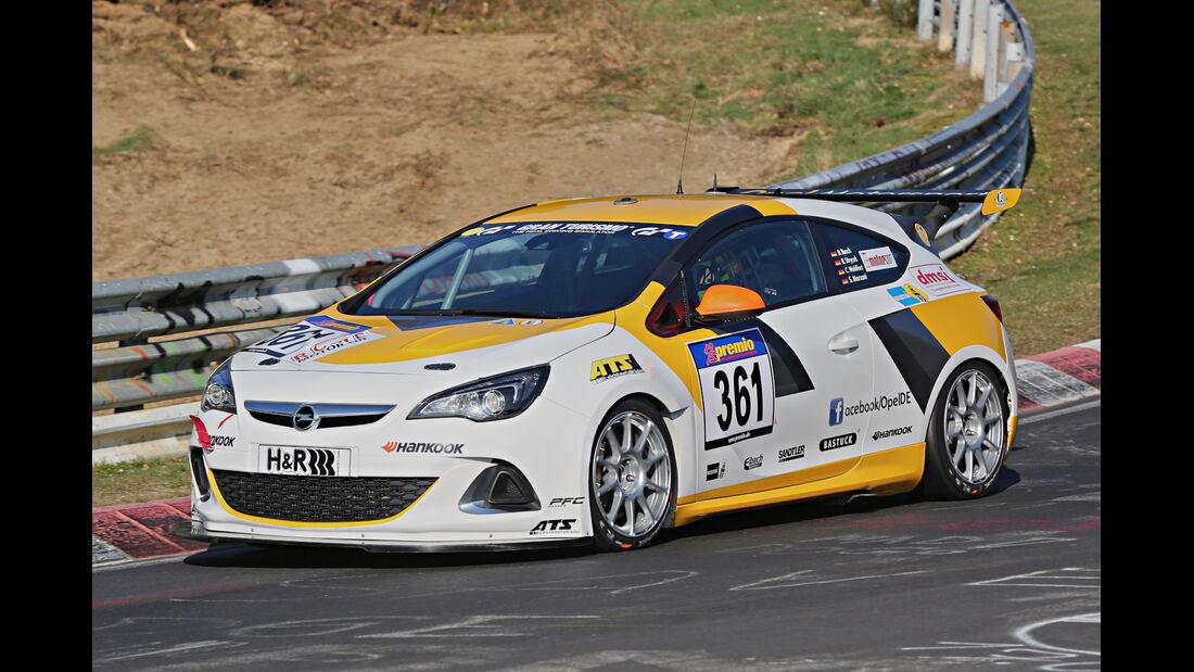 VLN 2014, #361, Opel Astra OPC CUP, CUP1, Langstreckenmeisterschaft Nürburgring