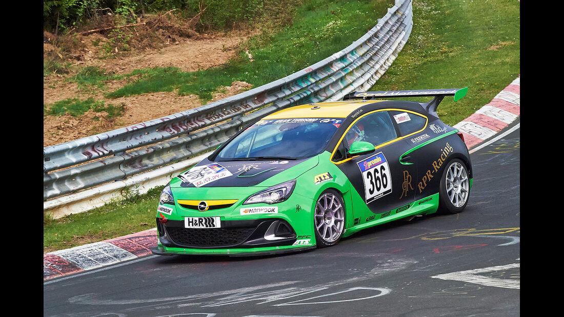 VLN 2014, #366, Opel Astra OPC CUP, CUP1, Langstreckenmeisterschaft Nürburgring