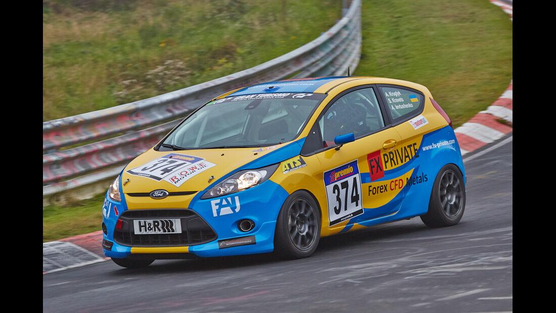 VLN 2014, #374, Ford Fiesta ST CUP, SP2, Langstreckenmeisterschaft Nürburgring