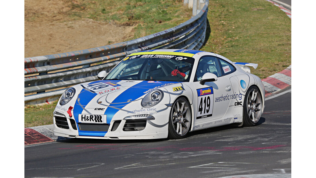 VLN 2014, #419, Porsche 991 Carrera, V6, Langstreckenmeisterschaft Nürburgring