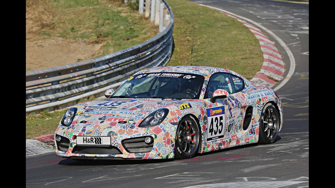 VLN 2014, #435, Porsche Cayman S, V6, Langstreckenmeisterschaft Nürburgring