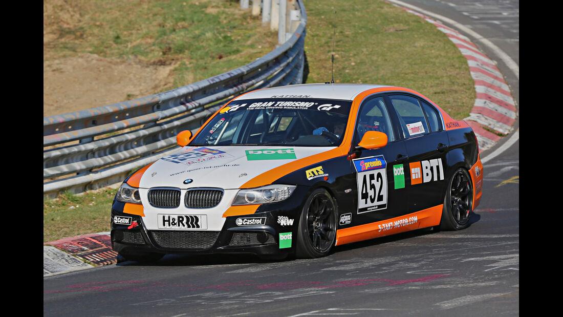 VLN 2014, #452, BMW 330i, V5, Langstreckenmeisterschaft Nürburgring