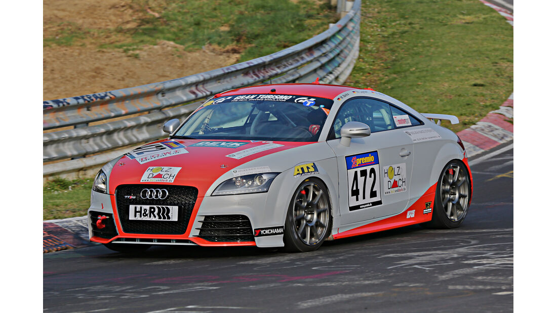 VLN 2014, #472, Audi TT RS, VT3, Langstreckenmeisterschaft Nürburgring