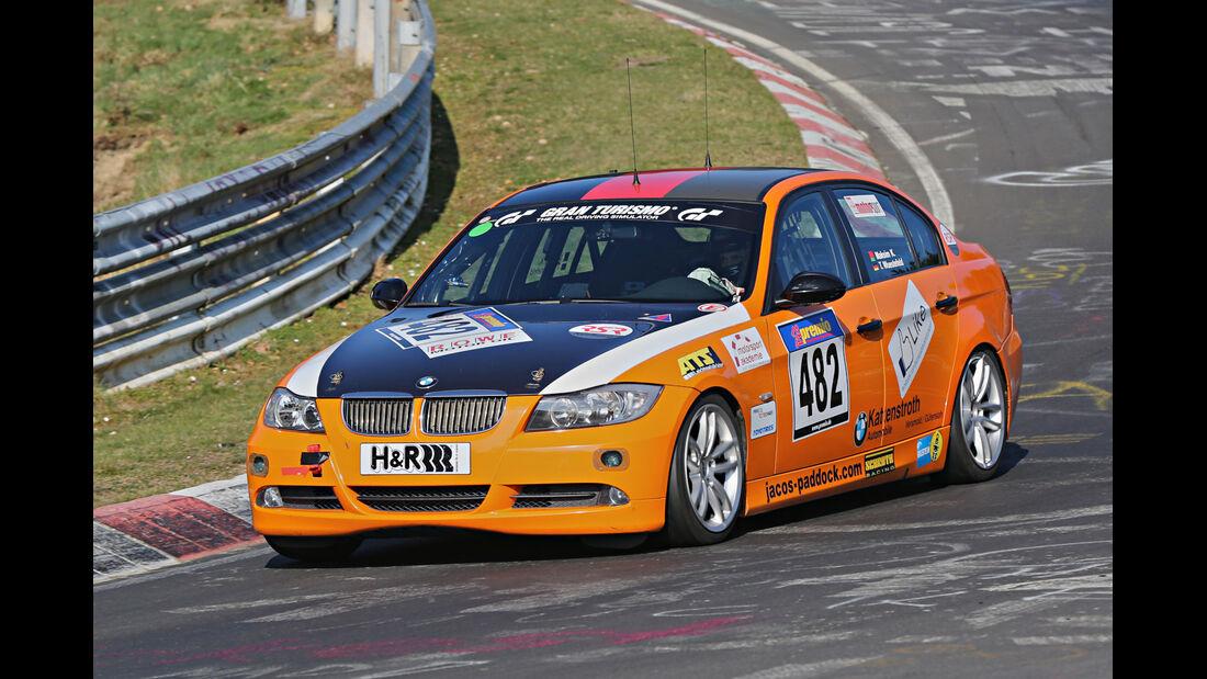 VLN 2014, #482, BMW 325i, V4, Langstreckenmeisterschaft Nürburgring