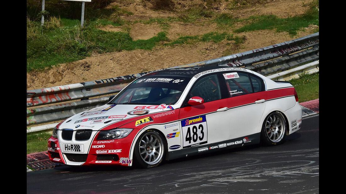 VLN 2014, #483, BMW 325i, V4, Langstreckenmeisterschaft Nürburgring