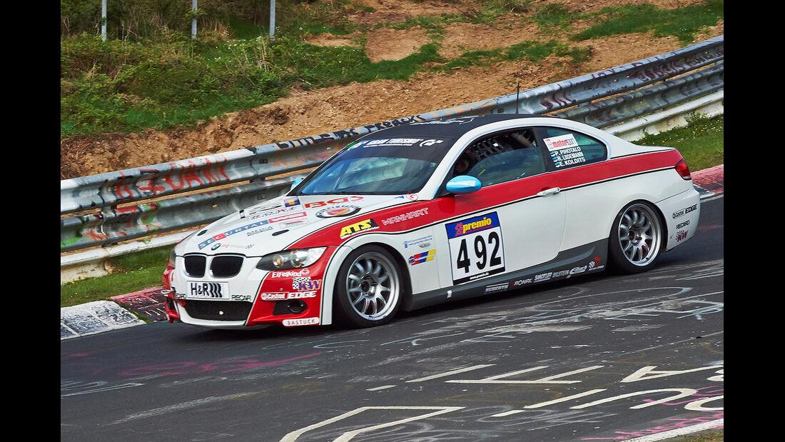 VLN 2014, #492, BMW 325i, V4, Langstreckenmeisterschaft Nürburgring
