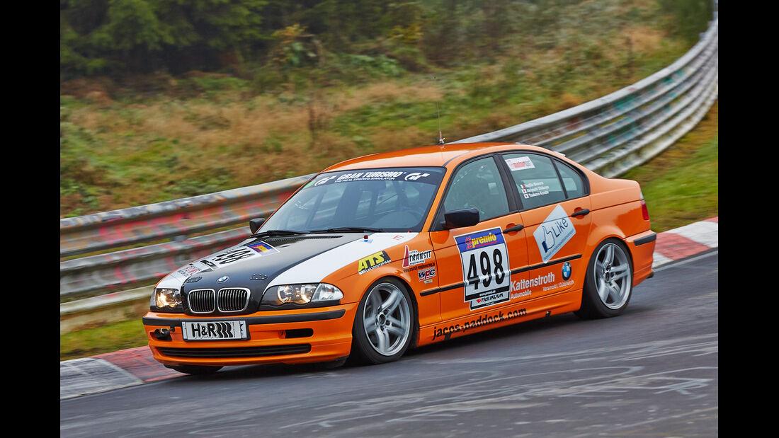 VLN 2014, #498, BMW 325i, V4, Langstreckenmeisterschaft Nürburgring