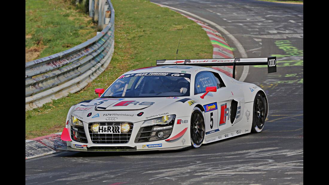 VLN 2014, #5, Audi R8 LMS ultra, SP9, Langstreckenmeisterschaft Nürburgring