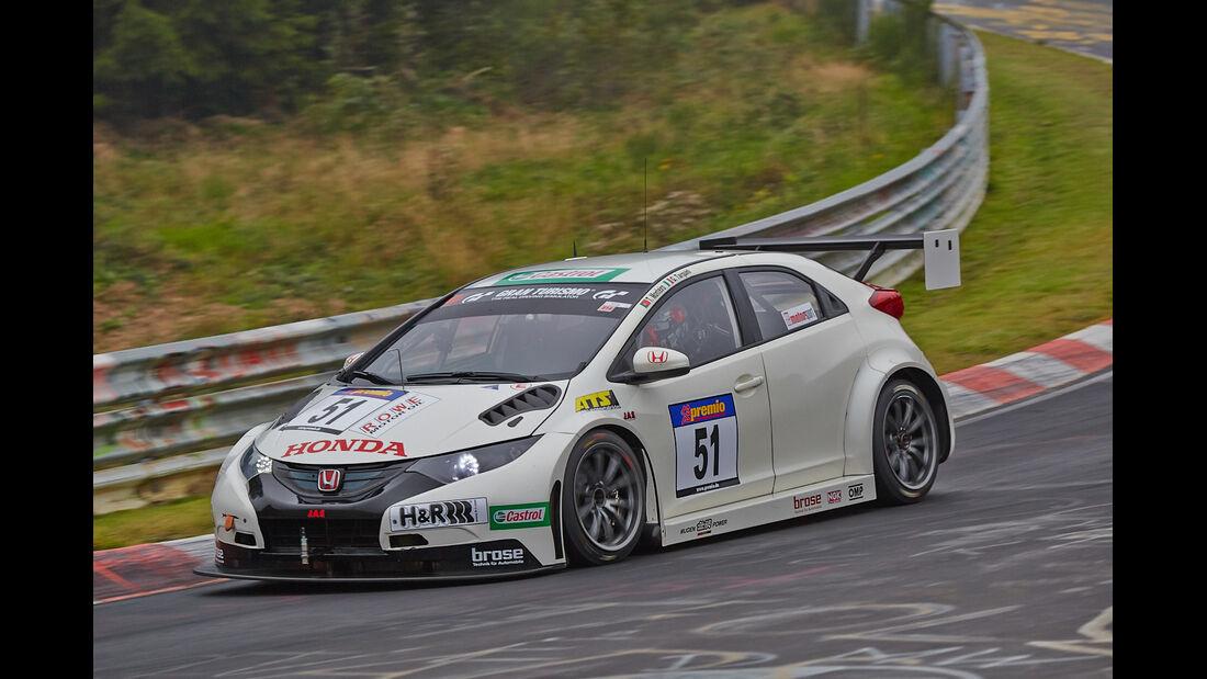 VLN 2014, #51, Honda Civic WTCC, SPX, Langstreckenmeisterschaft Nürburgring