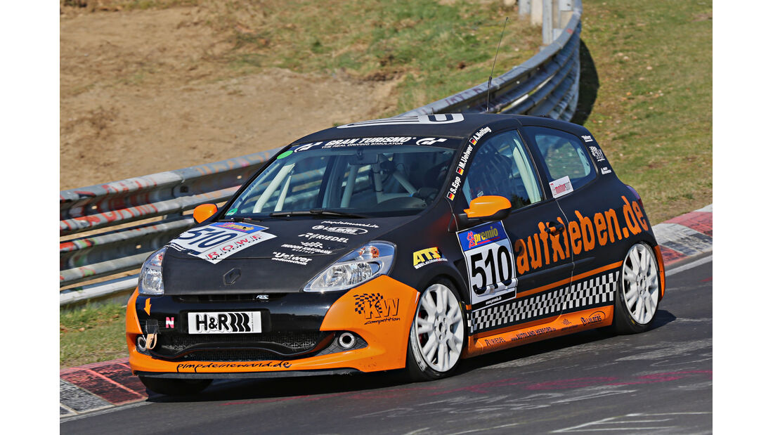 VLN 2014, #510, Renault Clio RS, V3, Langstreckenmeisterschaft Nürburgring