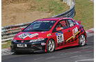 VLN 2014, #511, Honda Civic, V3, Langstreckenmeisterschaft Nürburgring