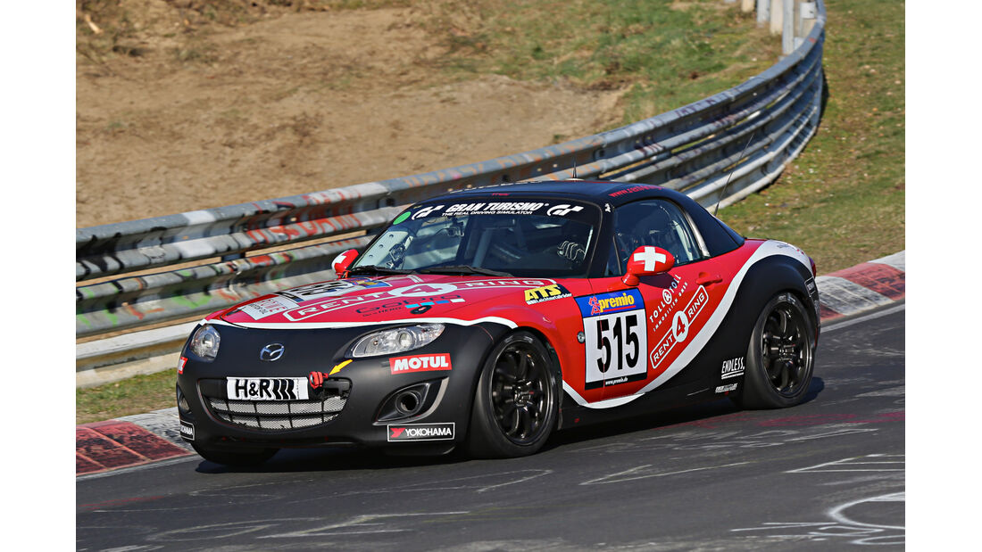 VLN 2014, #515, Mazda MX5, V3, Langstreckenmeisterschaft Nürburgring